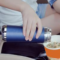 12V Car Mounted Electric Cup Winter 100 Degree Heating Hot Water Boiling Cup Thermal Insulation Kettle Gift Automotive
