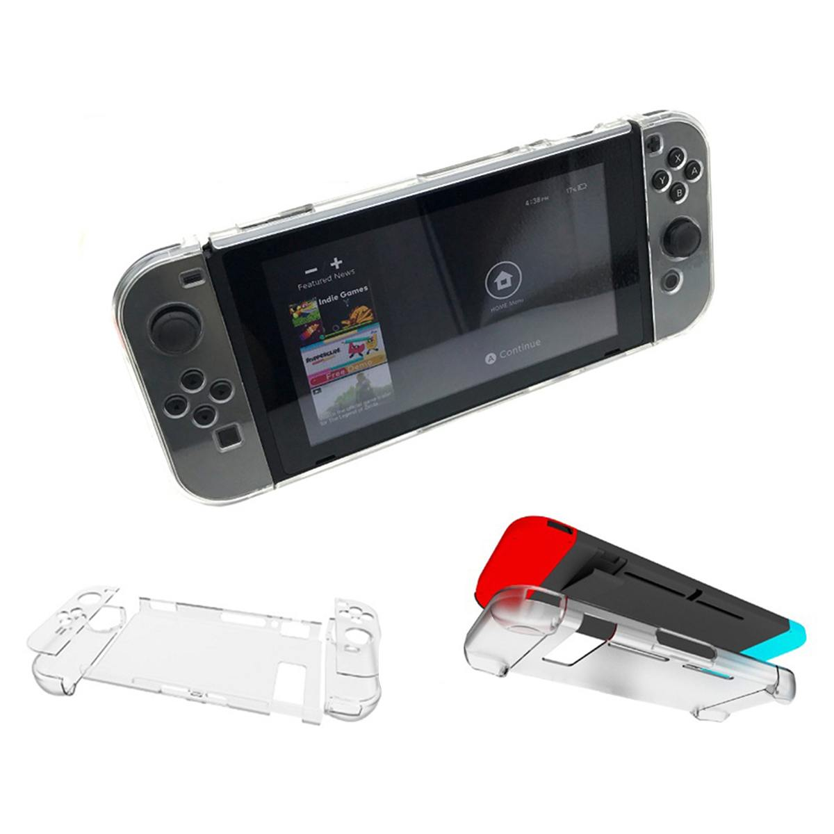 PC Hard Carry Case Detachable Protective Game Console Controller Cover Shell Skin For NS Switch & JoyCon Stand Cases Man Women