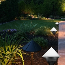 Solar Powered LED Ground Light Waterproof Lawn Lamp For Garden Corridor Outdoor