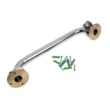 2 Pcs Polished Handrail 316 Stainless Steel Yacht/Marine Hatch Grab Handle Door Boat Accessories With Mounting Screws