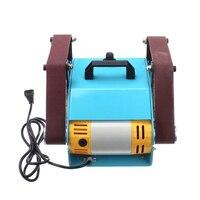 950 W 220 V Многофункциональный шлифовальный станок для рабочего стола с двумя осями шлифовальный станок 800 6000 об/мин Скорость вращения