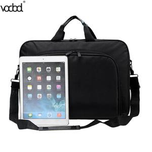Image 1 - VODOOL Laptop Bag Computer Bag Business Portable Nylon Computer Handbags Zipper Shoulder Laptop Shoulder Handbag High Quality