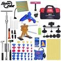 Super PDR Tools Kit Für Auto Ausbeulen ohne Reparatur Werkzeug Hagel Dent Entfernung Kit auto dent abzieher saugnapf dent ziehen brücke