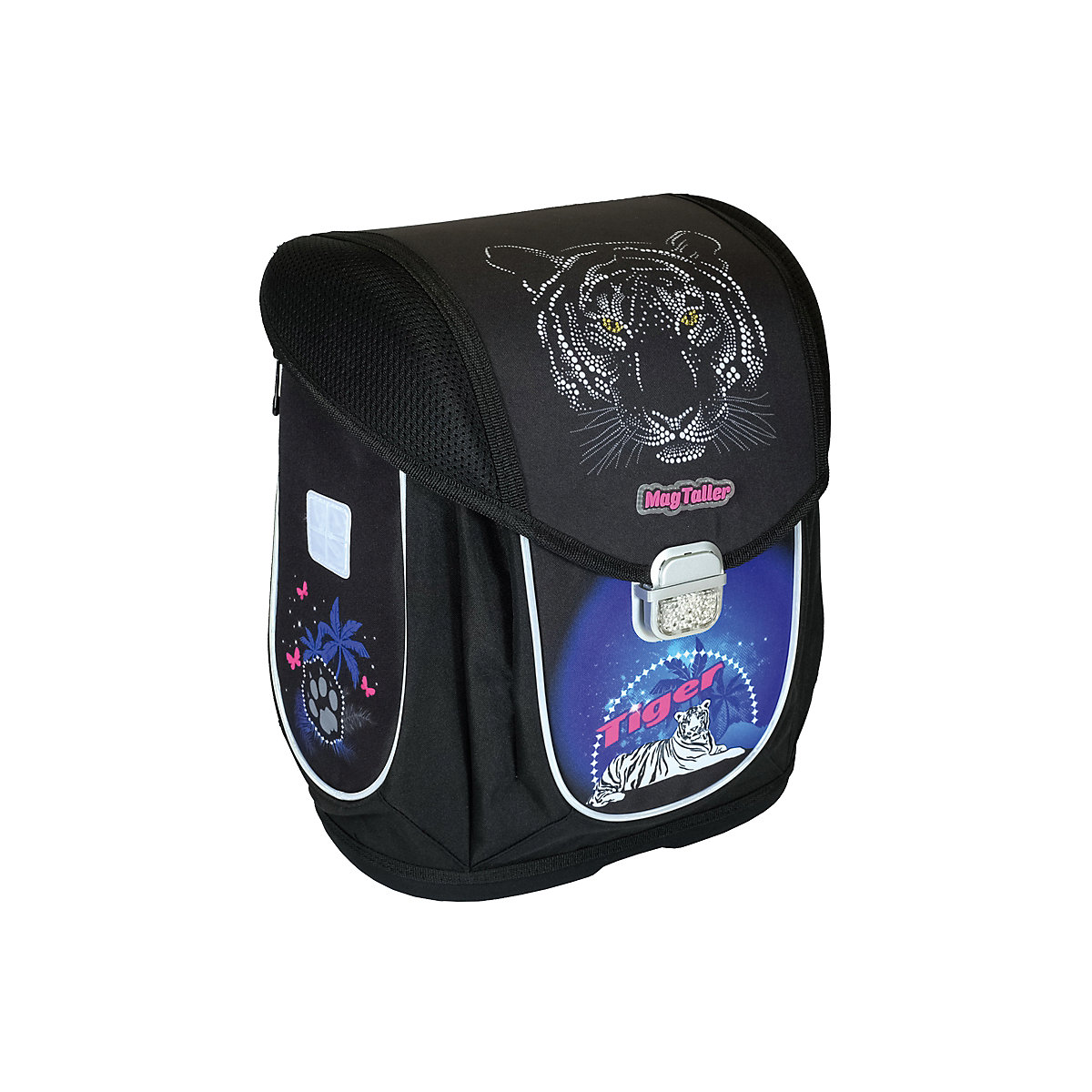 School Bags MAGTALLER 8316056 Schoolbag Backpack Orthopedic Bag For Boy And Girl Animals Flowers