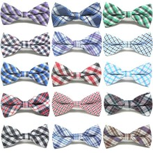 50/100PCS  Pet Dog Cat Bow Ties Classic Stripe Collar Accessories Supplies Bows Wholesale