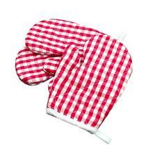 Gants de cuisson pour enfants, 2 pièces, au four à micro ondes, Anti brûlure, isolation thermique, pour la cuisine