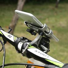 Держатель для телефона для велосипеда, вращение на 360 градусов, подставка для велосипеда, прочная нескользящая велосипедная аксессуары для велосипедной стойки