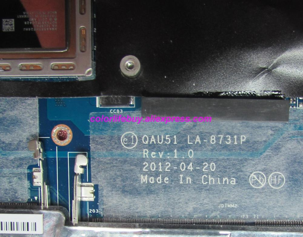 Image 3 - Genuine 689157 001 689157 501 689157 601 QAU51 LA 8731P A6 4455M Laptop Motherboard for HP ENVY SLEEKBOOK 6 6 1000 NoteBook PC-in Laptop Motherboard from Computer & Office
