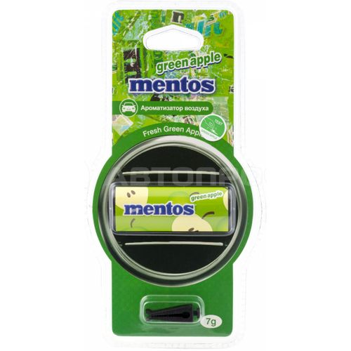 Flavoring for deflector Автопрофи MENTOS GREEN APPLE/Apple Green (MNT501) ароматизатор auto perfume green apple рн3556