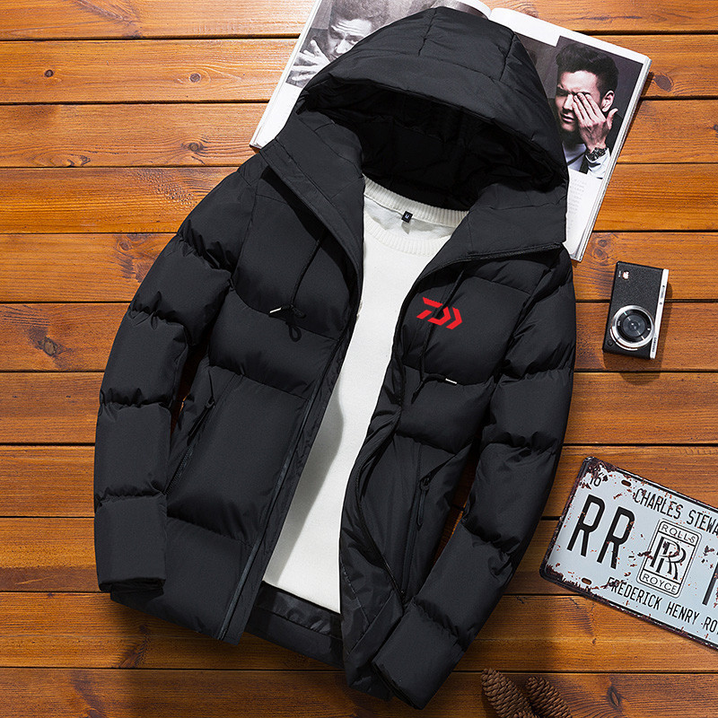 Fishing Clothing Autumn Winter Outdoors Cotton Fishing Jacket Warm Ventilation Light Thickening Cold proof Coat For Men