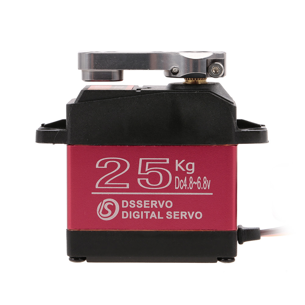 2pcs DSSERVO DS3225 Digital Servo 25KG Metal Gear High Torque Waterproof for RC Traxxas HSP Car