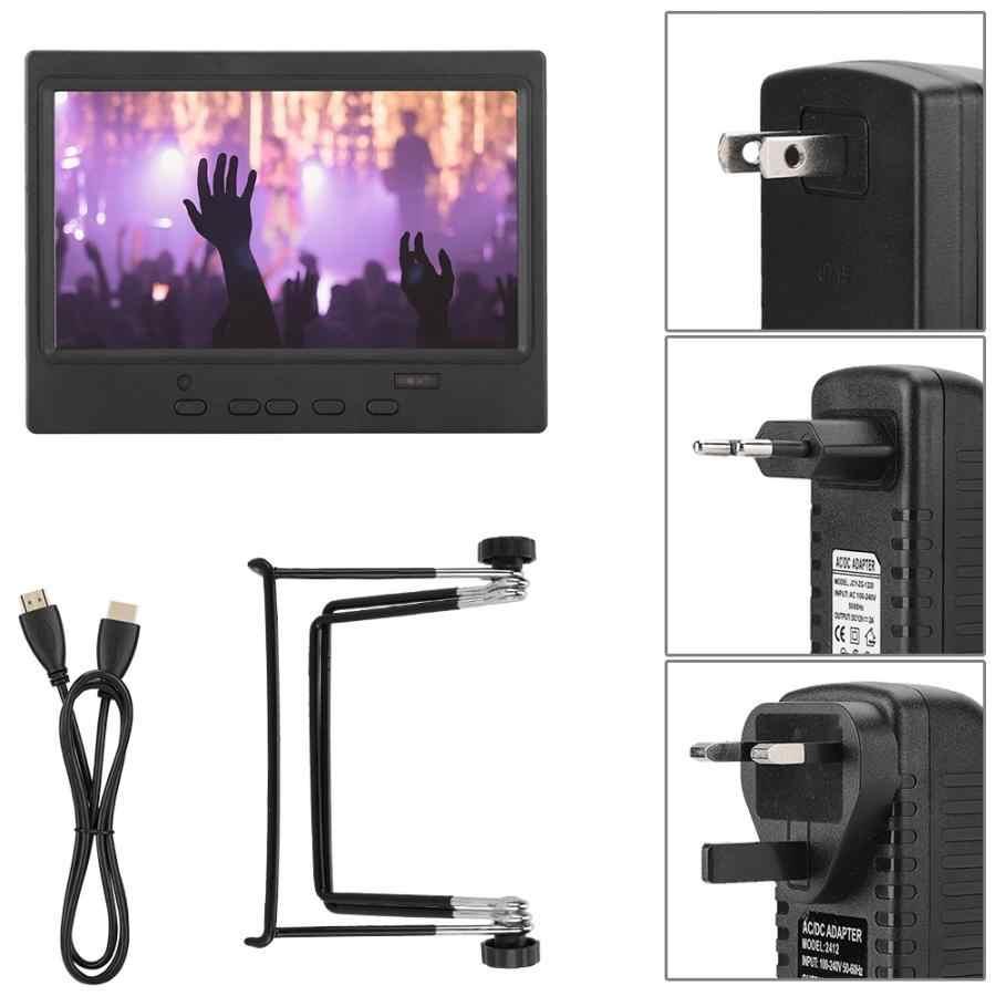 شاشة محمولة 7 بوصة 1024x600 متعددة الوظائف تدعم إدخال HDMI/VGA/AV للبيع
