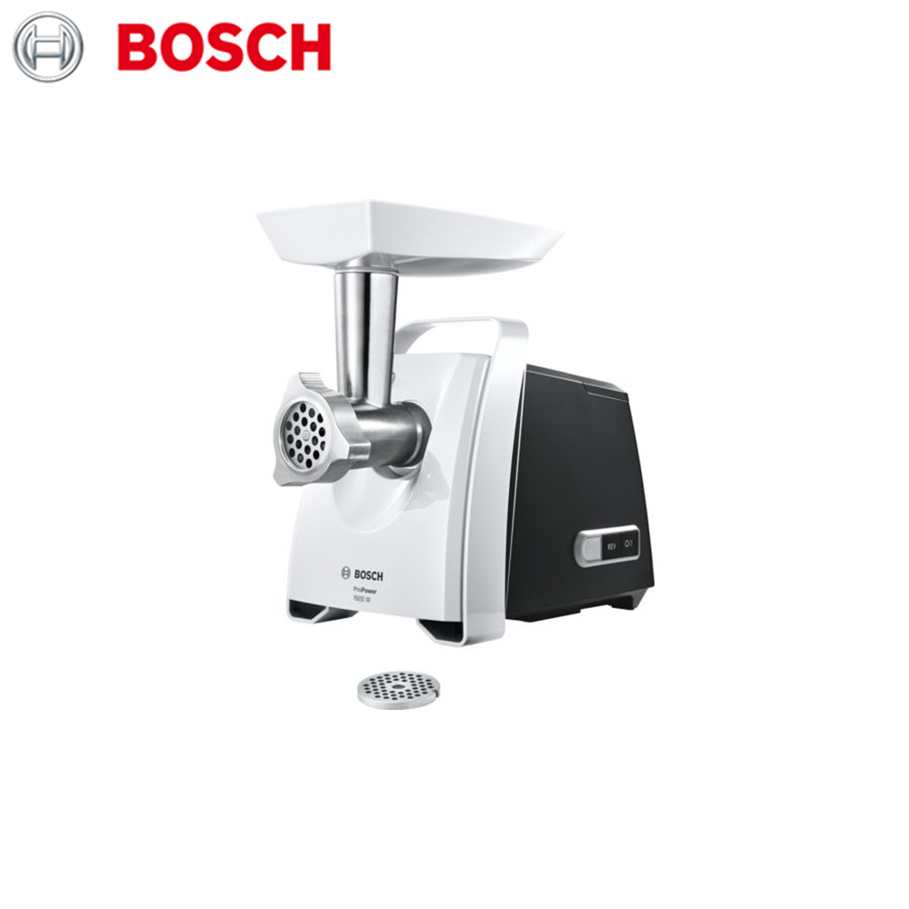 Meat Grinders Bosch MFW45000 home kitchen appliances electric chopper bear portable electric meat grinders 2l 300w 2 gears glass mini blenders 4 blades copper engine meat cutter kitchen appliances
