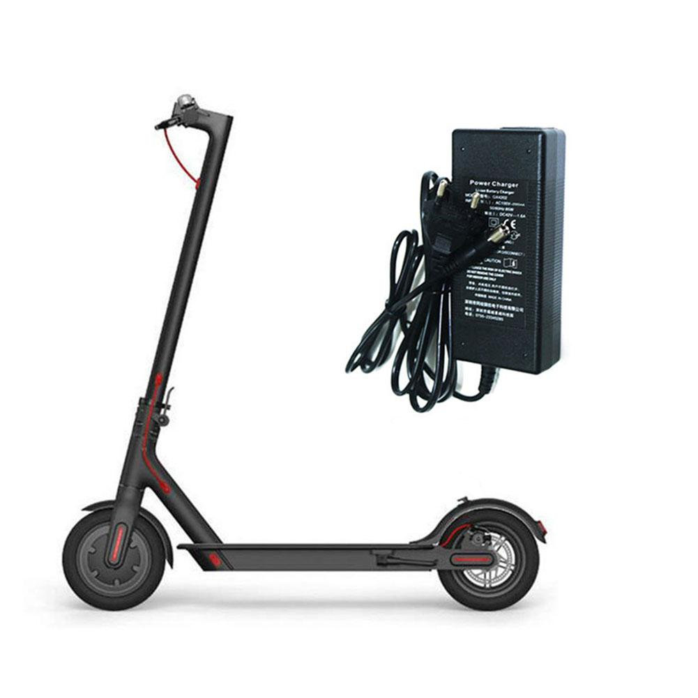 New High Quality Safe And Durable Electric Scooter Charger 42V 2A European Standard For Xiaomi M365 Scooter Adapter Charger in Scooter Parts Accessories from Sports Entertainment