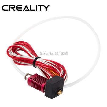 CREALITY 3D Assembled 1.75mm Extruder 0.4mm Nozzle Hotend kit Aluminum Heat Block For 3D Printer Ender-3/Ender-3 Pro/Ender-5 creality ender 3 ender 3 pro 3d printer economic ender diy kits with resume printing function 220x220x250mm shipping from moscow