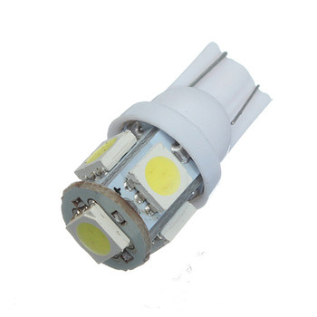 2/4/10/20 pcs New Hot T10 Wedge 5-SMD 5050 Xenon Car LED Light bulbs