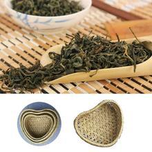 Heart Shaped Woven Bamboo Basket Reusable Natural Handmade Heart-shaped Woven Bamboo Basketcandy For Fruit Gift Box Packaging цена