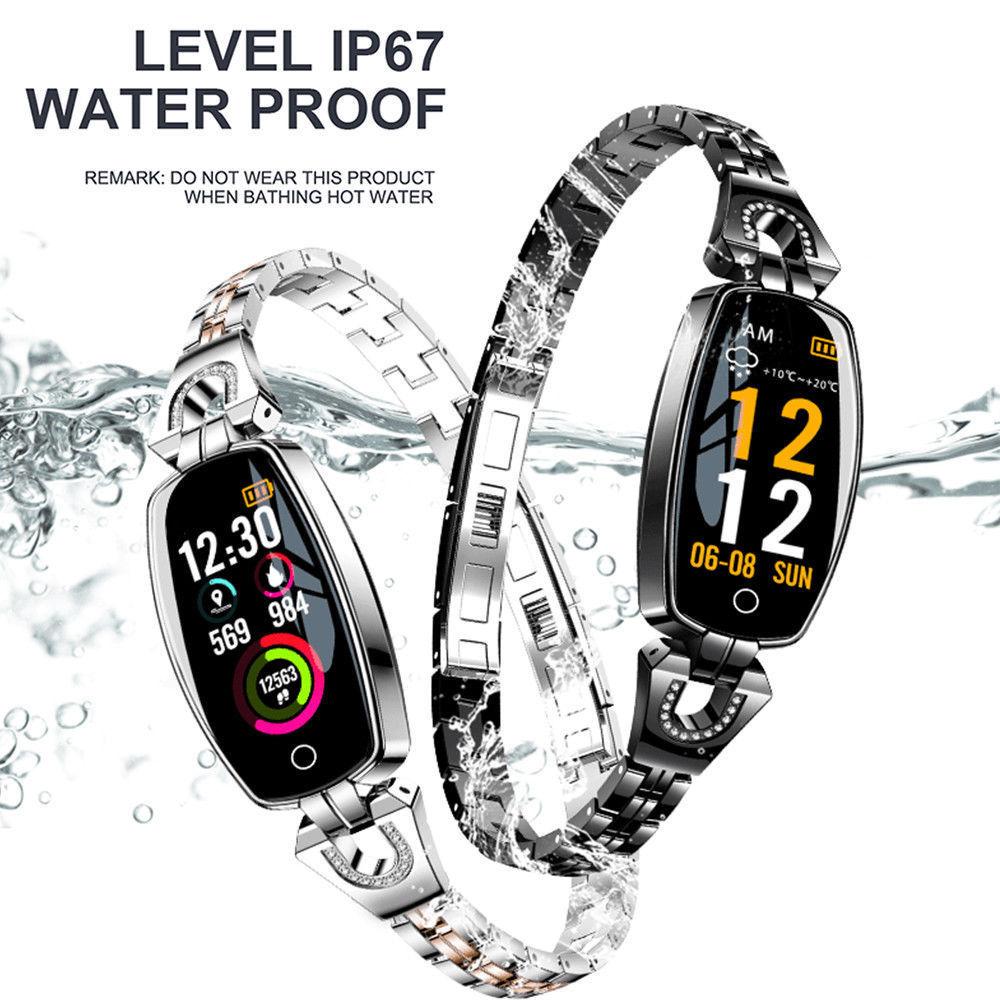 H8 Womens Smart Watch Calories Fitness Tracker Blood Pressure Monitor WristbandH8 Womens Smart Watch Calories Fitness Tracker Blood Pressure Monitor Wristband