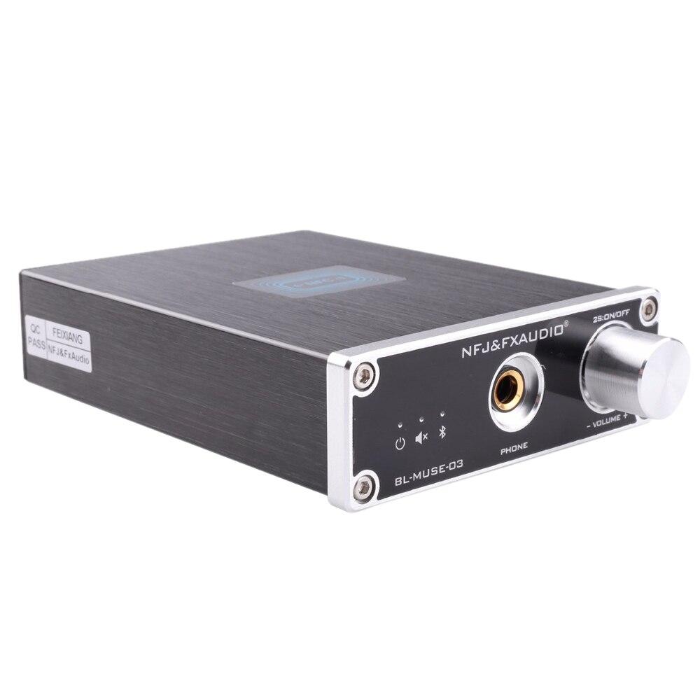 NFJ & FXAUDIO fx-audio BL-MUSE-03 Bluetooth 4.2 CSRA64215 récepteur Audio DAC décodage sans perte MINI HiFi qualité sonore casque