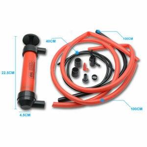 Image 1 - Yeni el sifon pompa yağı yakıt benzin dizel su hava sifon Transfer seti