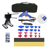36Pcs/Set 12V Glue Gun Metal Dent Lifter Glue Puller Tab Car Body Hail Removal Paintless Car Painless Dent Repair Hail Remova