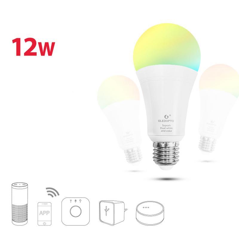 LED 16 Color Changing RGB Magic Light Bulb Lamp 12W 110 240V RGB Led Light Spotlight 2019 New Arrival