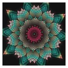 5D Diamond Painting Full Drills Floral Diy Embroidery Kit Mandala By Number Cross Stitch Cr