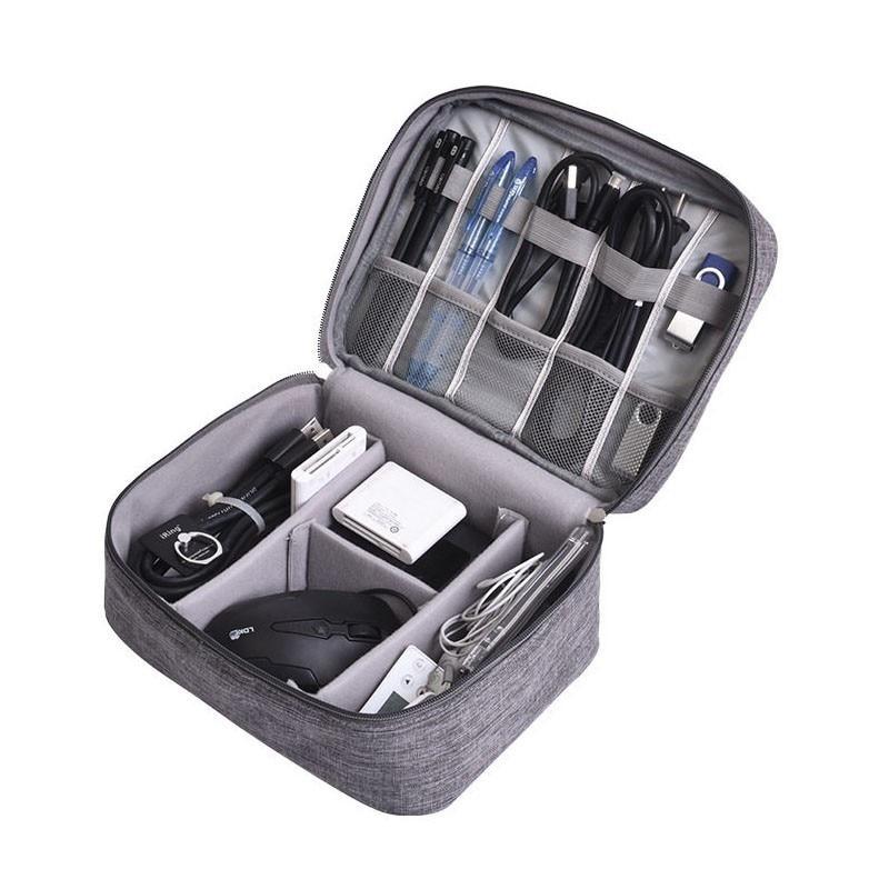 Multifunktionale Digitale Gerät Reise Veranstalter Tasche USB Gadget Ladegerät Kabel Lagerung Fall Digitale Zubehör Container
