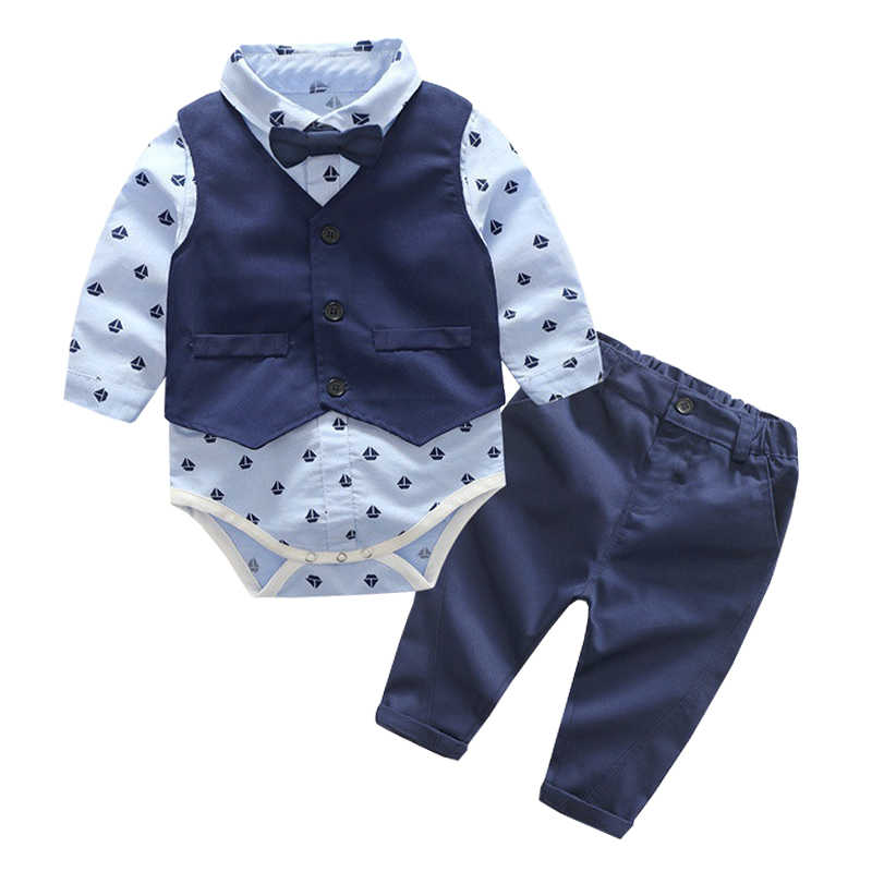 460594996 Detail Feedback Questions about 3pcs Baby Boy Clothing Set Cotton ...