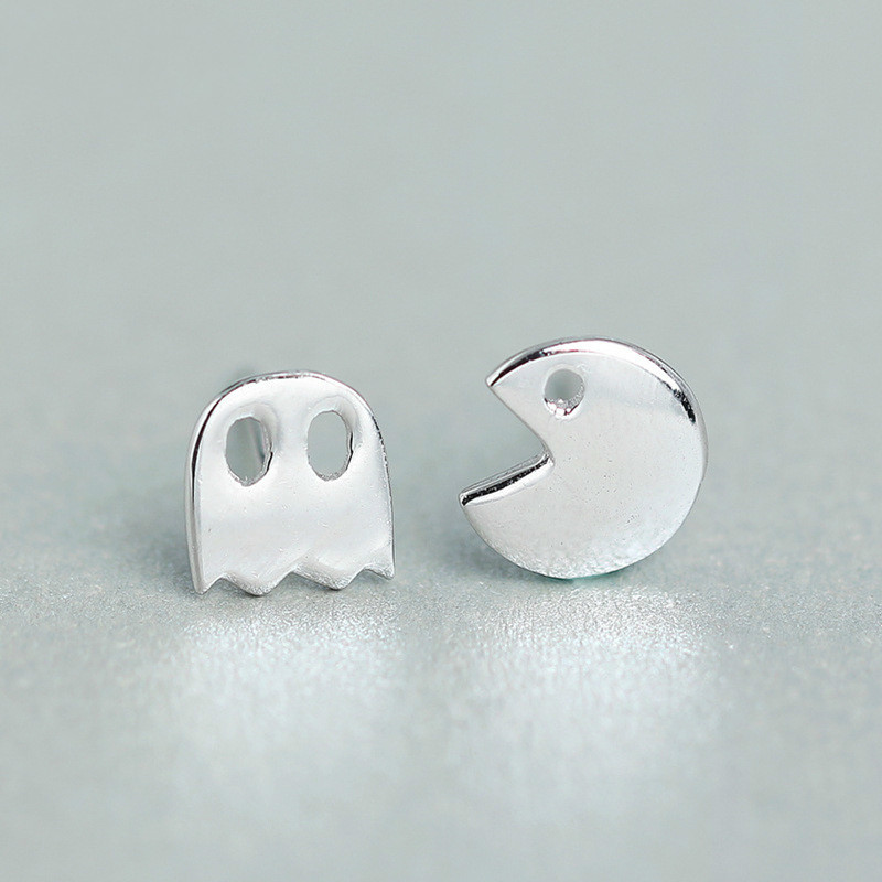 2018 New Womens Fashion 100% 925 Sterling Silver Fashion Tiny Cute Stud Earrings Girls Kids Gift