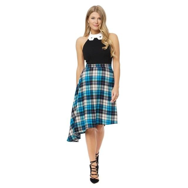 Легкая юбка из вискозы
