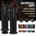 Universal 22mm Street Racing Moto Für kit mit Bar end CNC 7/8 ''Motorrad Griff bar CAPS Lenker Griffe kit BARRACUDA Griffe