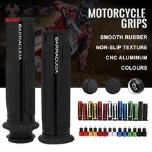 Универсальный 22 мм Street Racing Moto для комплект с Бар Конец ЧПУ 7/8 »мотоцикл Ручка Бар шапки Руль управления мотоциклов ручки рулевые
