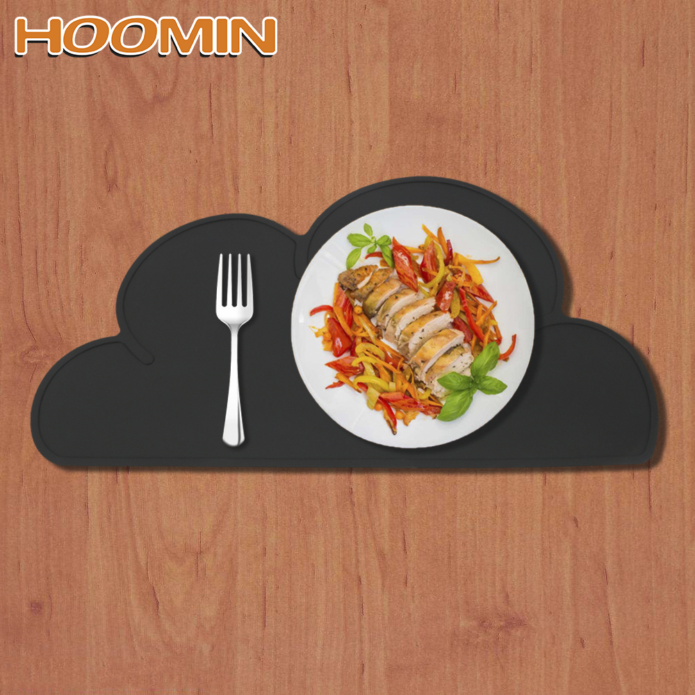 Conscientious Hoomin Cloud Shaped Placemat Waterproof No-slip Home Kitchen Accessories Table Mats Cute Silicone Dish Cup Mat Pad Mats & Pads Kitchen,dining & Bar