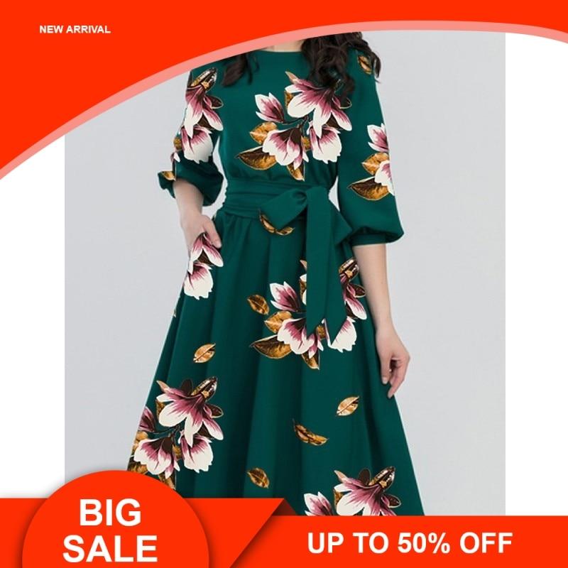 Spring O-neck Long Maternity Dresses For Pregnant Women Clothes Flowers Print Pregnancy Dress Gravidas Maternity