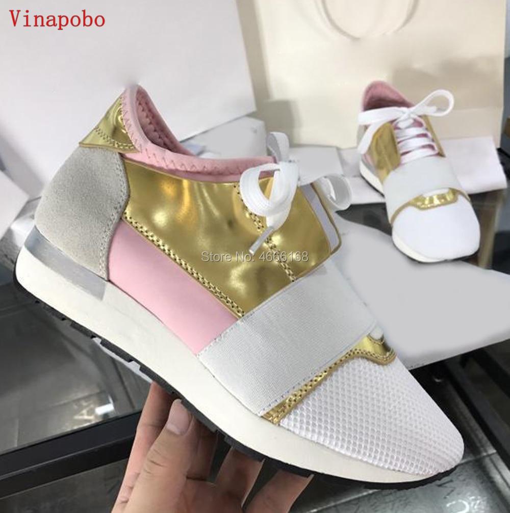 Ayakk.'ten Erkek Rahat Ayakkabılar'de 2019 Yeni Tasarımcı Yüksek Kaliteli Erkek Kadın Moda Düşük Kesim Dantel Up Nefes Örgü Spor Ayakkabı Açık Havada Yarış Koşucu rahat Ayakkabı'da  Grup 1