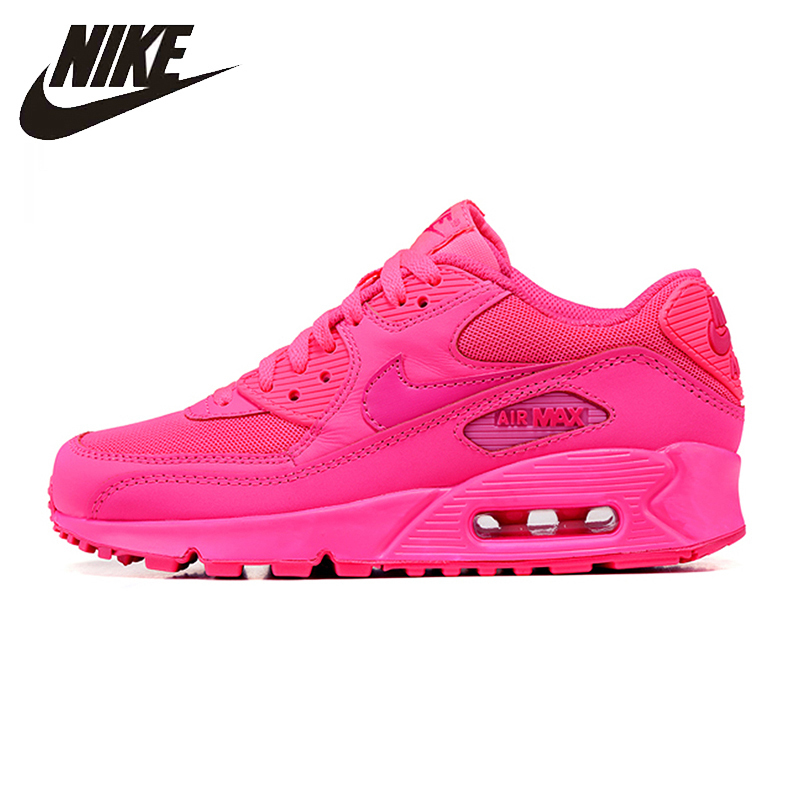 Nike Air Max 90 Original Women Running Shoes Breathable Sports Lightweight Sneakers Shoes #345017-601
