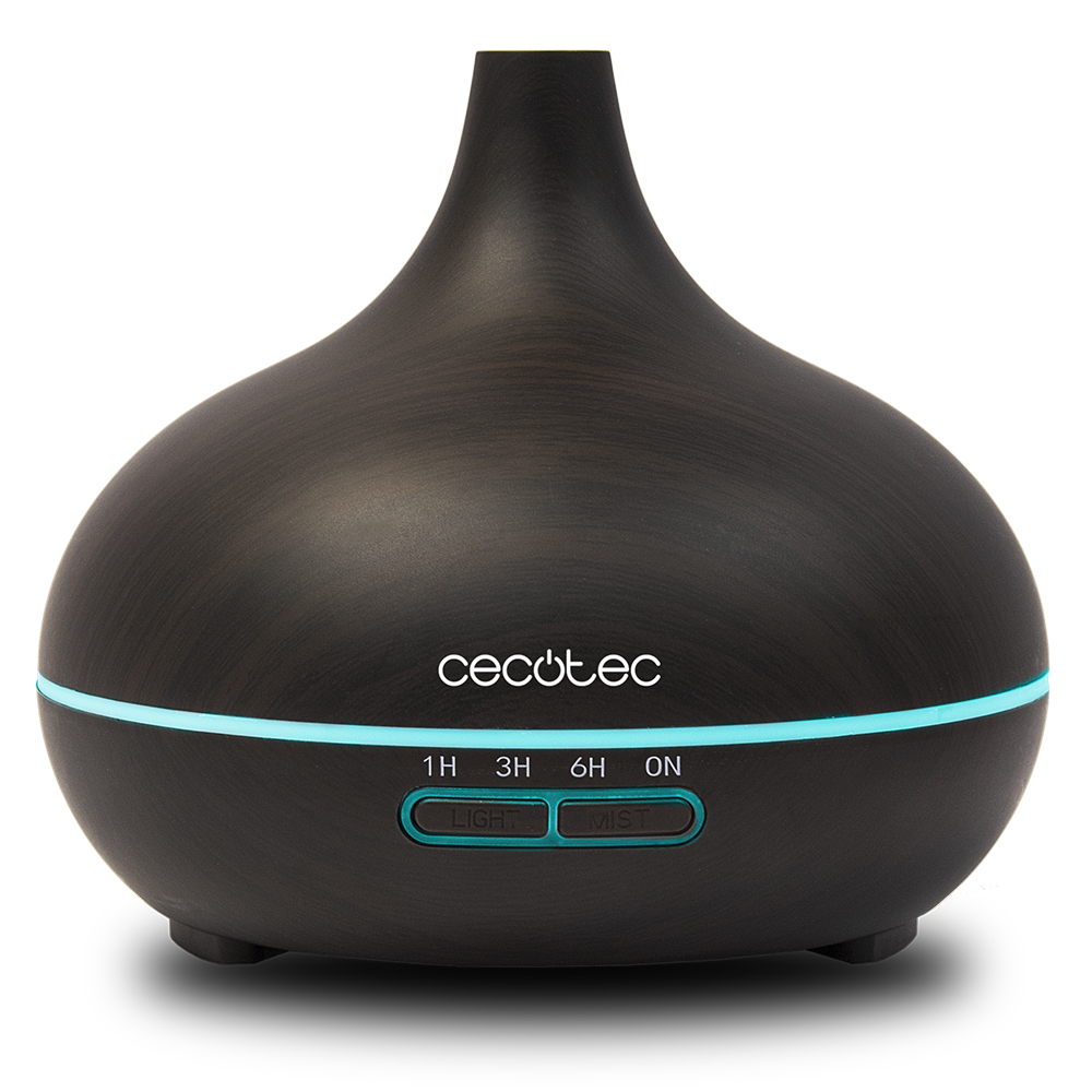 Cecotec Ultrasonic Humidifier Pure Aroma 300 Yin Reduce Environmental Drying 7 Led Lights Time Up To 6 Hours Healthy Decoration