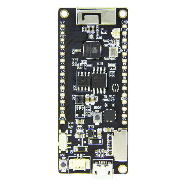 TTKK Ttgo T8 V1.7 Esp32 4Mb Psram Tf Card 3D Antenna Wifi And Bluetooth Esp32-Wrover Micropython