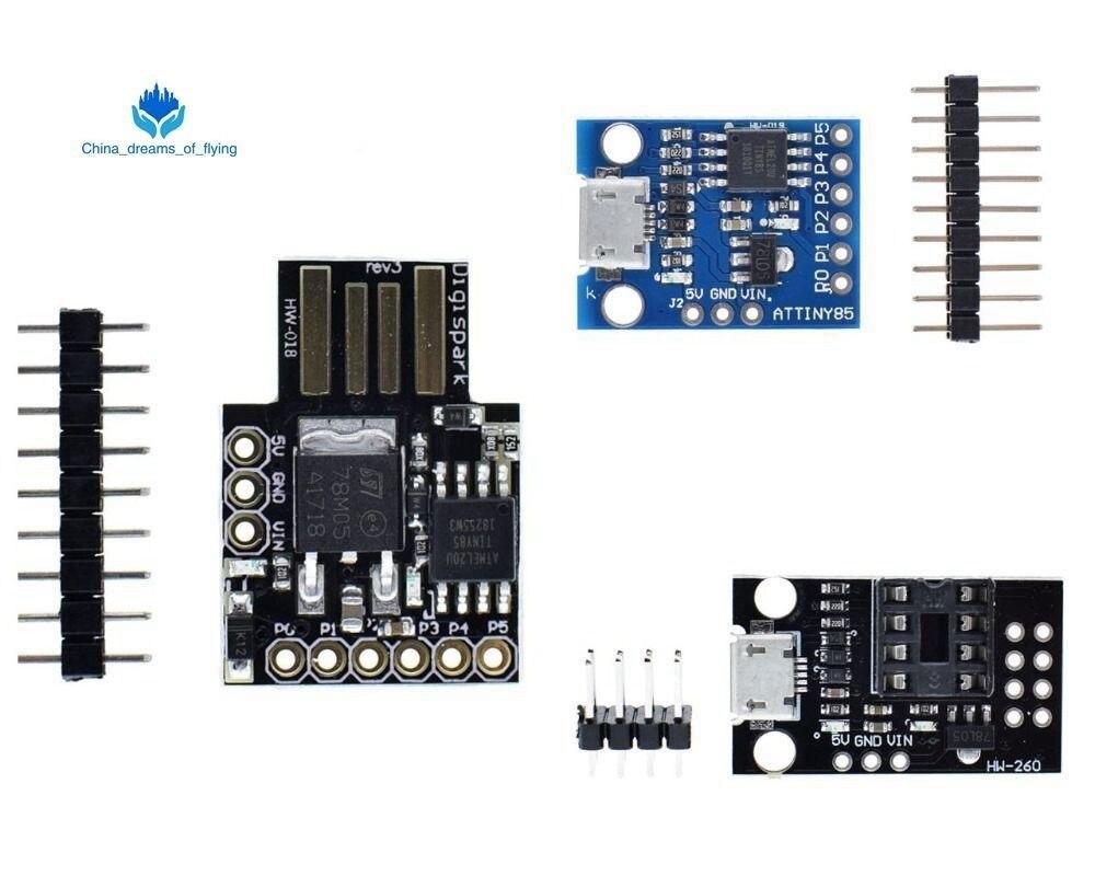 TZT 1 шт. GY Digispark Kickstarter миниатюрный Минимальный Совет по развитию ATTINY85 модуль для Arduino usb