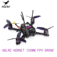 Hot Sales HGLRC HORNET 120mm FPV Racing Drone Compatible FrSky XM+ Omnibus F4 OSD 13A Blheli_S ESC BNF/PNP