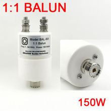 1:1 BALUN Widerstehen power 150W SSB, PEP 250W für radio und QRP Empfänger Kurzwelligen balun antenne balun