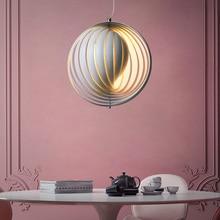 American Rural Retro Moon pendant light for dinning room Restaurant pendant lamps for Living Room Bedroom hanging light fixtures цена