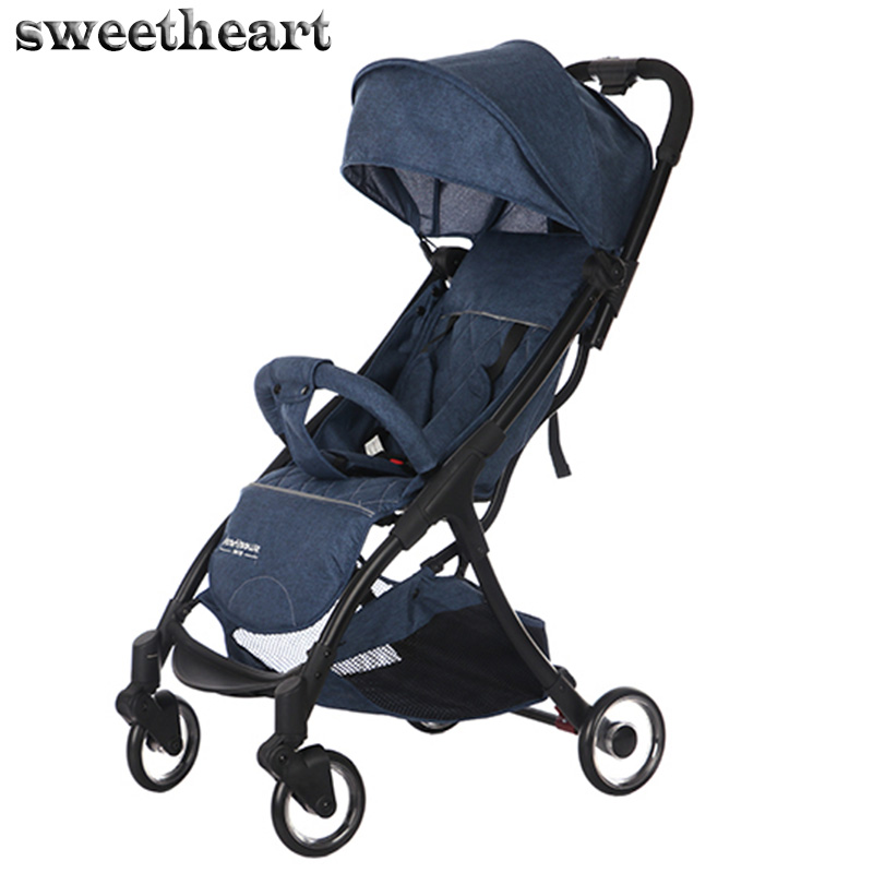 Sweetheart baby cart Can sit and lie lightweight folding stroller Free shipping  Sweetheart baby cart Can sit and lie lightweight folding stroller Free shipping