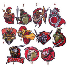Sparta Spartacus warrior Clothes Embroidery Patch Cloth Sticking Decoration Repair Holes DIY