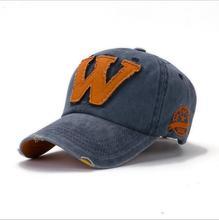 hot cotton embroidery letter W baseball cap snapback caps fitted bone casquette hat for men women custom hats цена в Москве и Питере