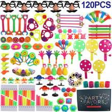 LeadingStar 120Pcs Party Favors Toy Assortment for Birthday Pinata Fillers Carnival Prizes Classroom Rewards Christmas Gift(China)