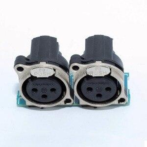 """Image 1 - """"XLR"""" ו """"MIC"""" Micphone שקע לוח חלקי תיקון עבור Sony PMW 200 PMW EX280 PMW200 EX280 למצלמות"""