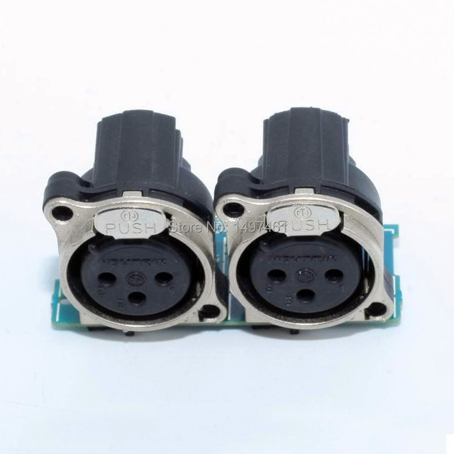"""""""XLR"""" ו """"MIC"""" Micphone שקע לוח חלקי תיקון עבור Sony PMW 200 PMW EX280 PMW200 EX280 למצלמות"""