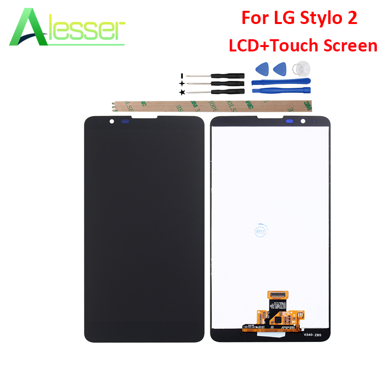 Alesser For LG Stylo 2 LCD Display And Touch Screen Screen Digitizer Assembly Replacement Digital Accessory For LG Stylo 2 +ToolAlesser For LG Stylo 2 LCD Display And Touch Screen Screen Digitizer Assembly Replacement Digital Accessory For LG Stylo 2 +Tool